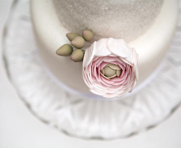Vintage Rose Cupcakes