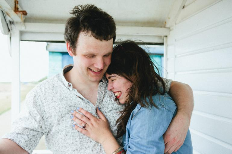 Whistable Beach Engagment Photography