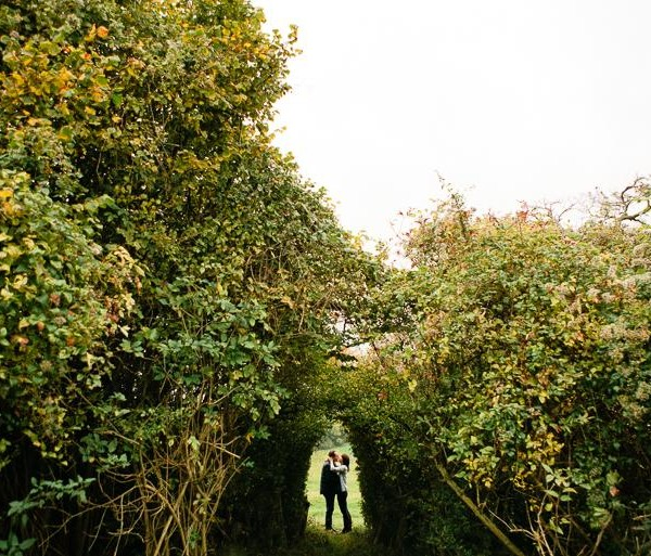Autumn Engagement Photography - Kent Countryside