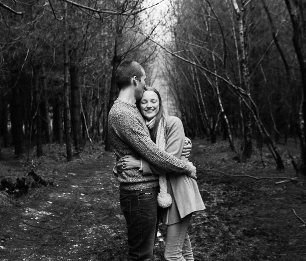 A Kent Woodland Engagement Shoot - Kent
