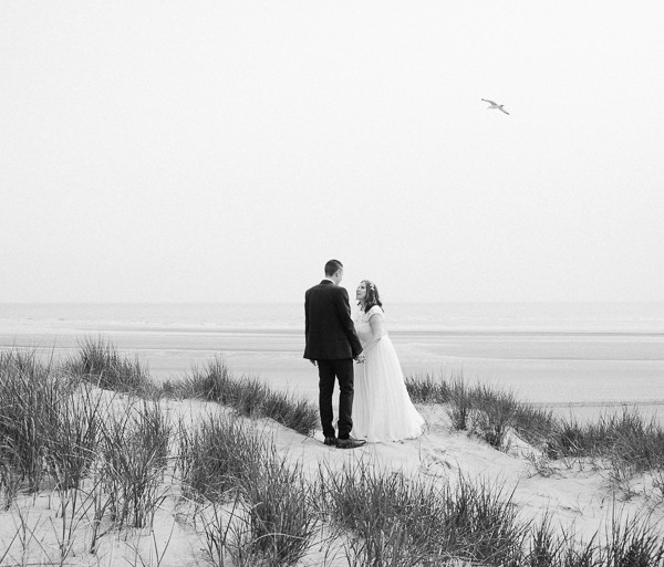 Beach Wedding Photography at The Gallivant, Camber Sands - East Sussex