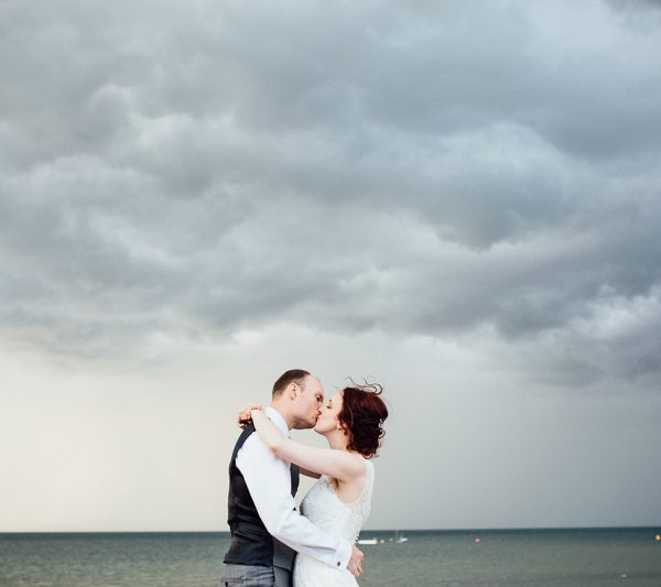 Seaside Wedding Photography at East Quay, Whitstable