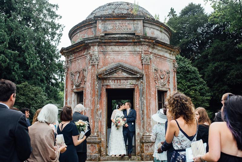Fun wedding photographer Kent- A larmer Tree garden wedding in Wiltshire-5