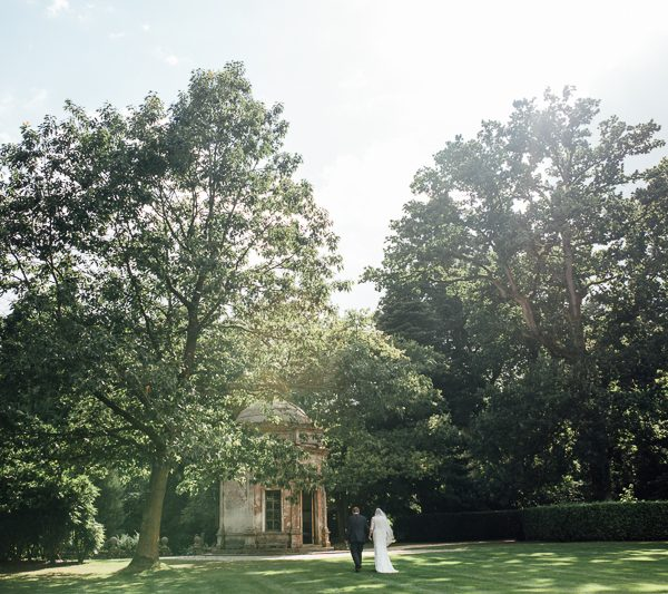 Larmer Tree wedding - Wiltshire