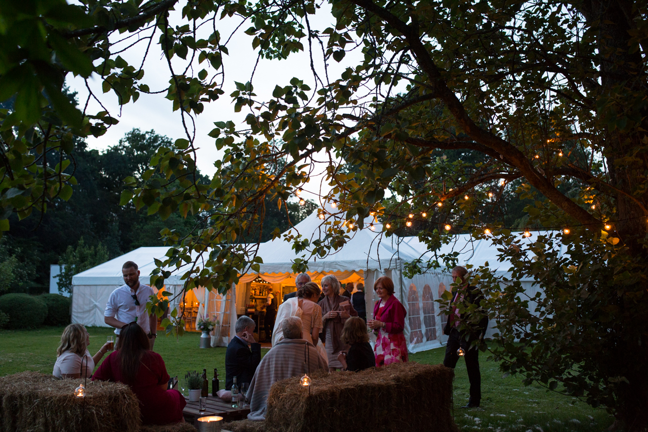 A marquee wedding in Kent
