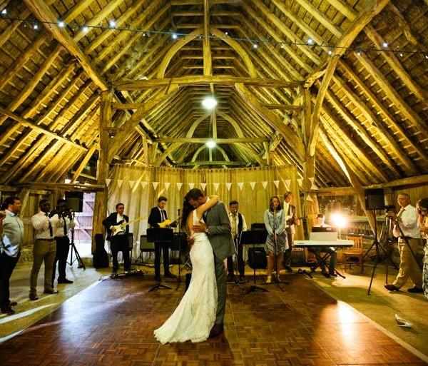 Graveney Village Hall Marquee Wedding Photography