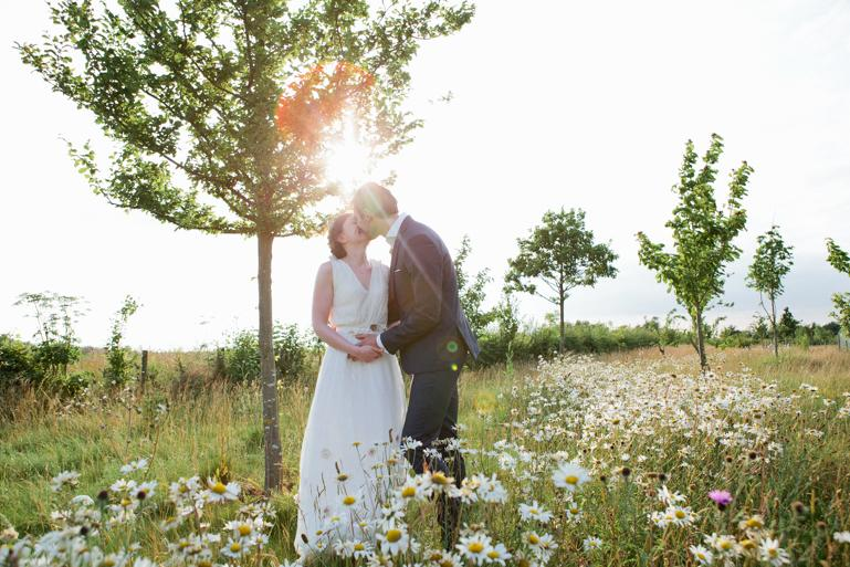 Beautiful evening light A South Farm wedding in South Cambridgeshire