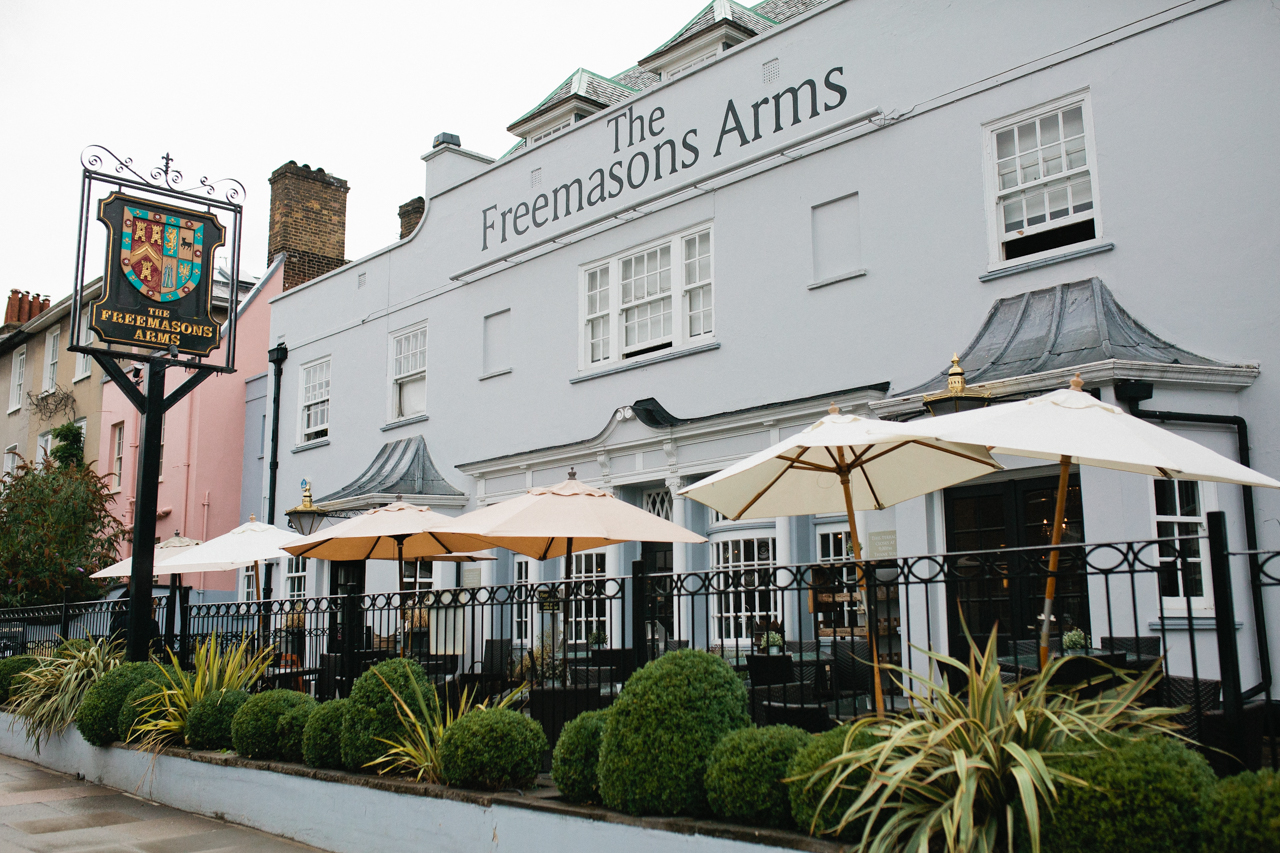 A London wedding at The Freemasons Arms on Hampstead Heath - Kent documentary wedding photography