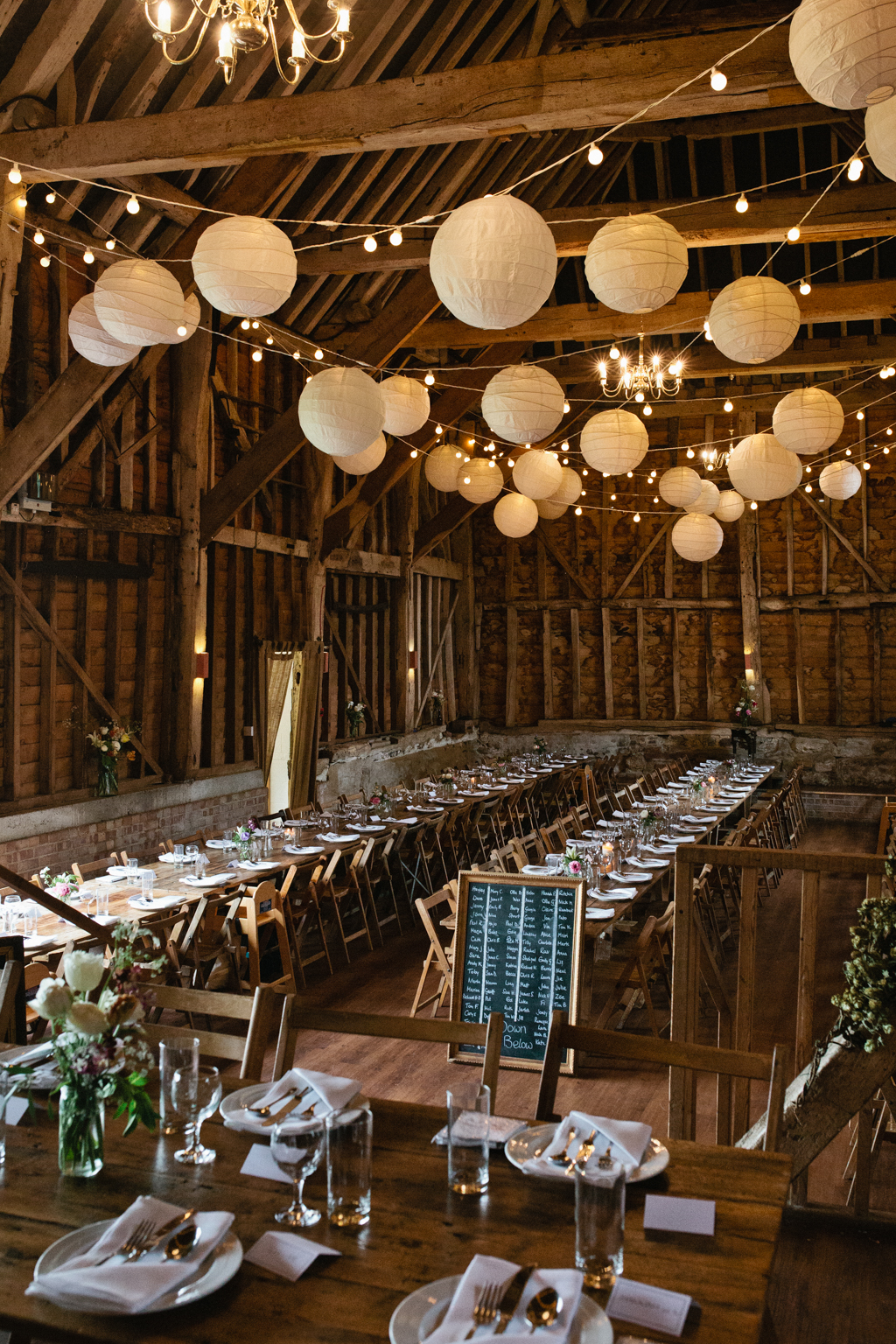 A beautiful set up by Anthology vintage at the Great Barn Rolvenden in Kent