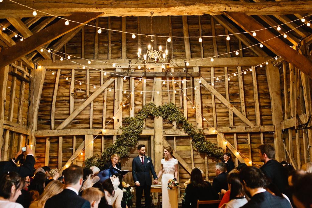 Top 8 barn wedding venues in Kent