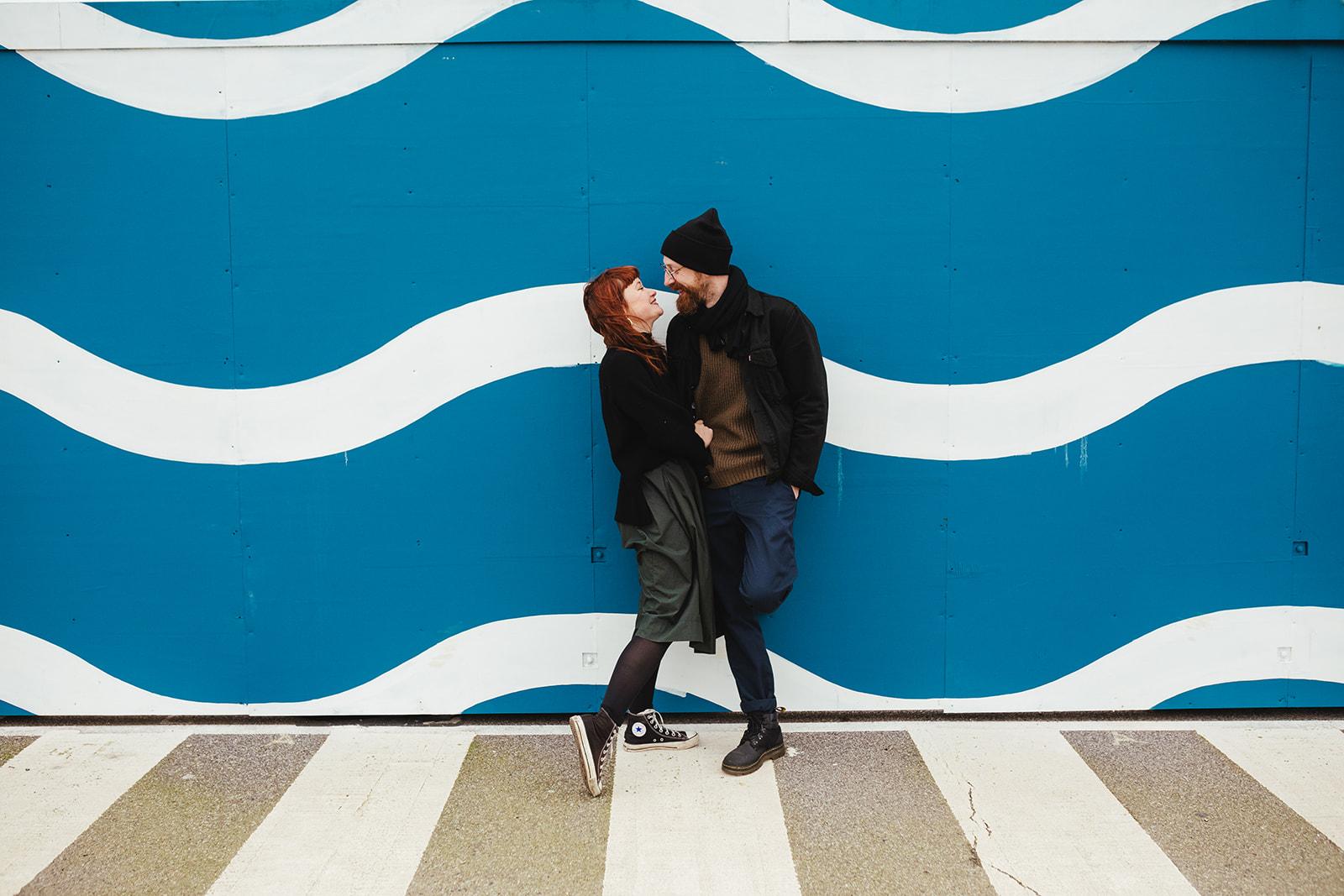 An engagement shoot in Folkestone